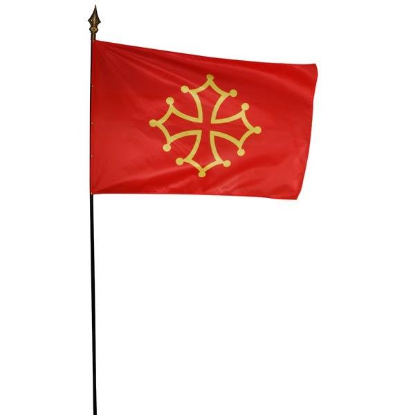 Drapeau province ou r gion en maille 80x120 cm drapeau for Table exterieur 80x120