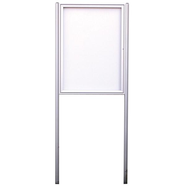vitrine ext rieure 1 porte sur pieds sceller 9xa4. Black Bedroom Furniture Sets. Home Design Ideas