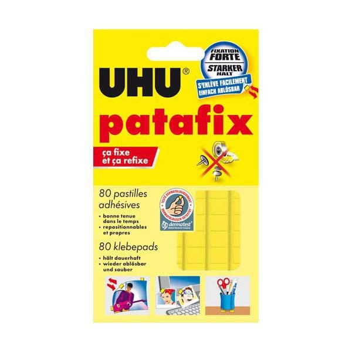 p 226 te adh 233 sive jaune uhu patafix patafix pate a fix fixe fixer apli agipa aplitack appli tack