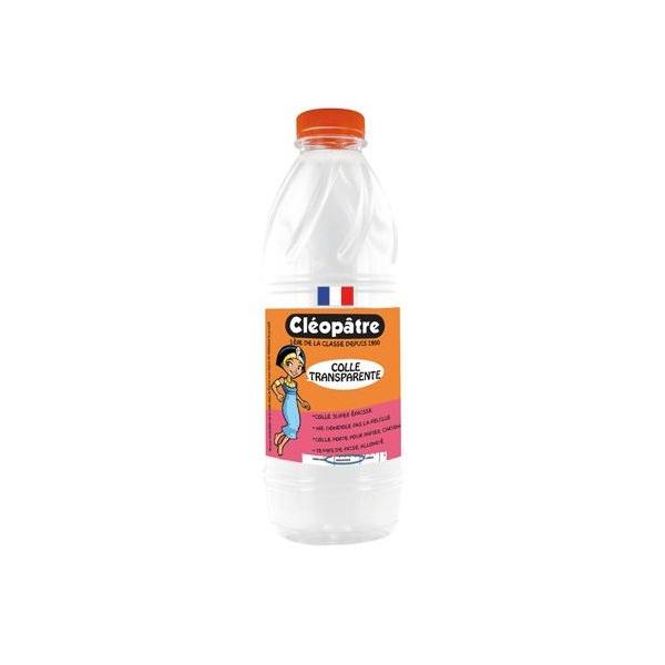 Colle liquide transparente incolore flacon de 1 litre - Colle giotto transparente ...