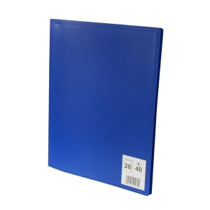 Prot ge documents a4 20 poches 40 vues reliure lutin for Lutin porte vue