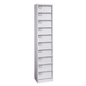 meuble clapets 10 cases meuble compartiment casier. Black Bedroom Furniture Sets. Home Design Ideas