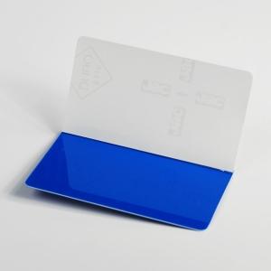 boîtes cubes pvc rigide transparent