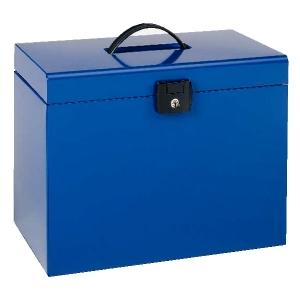 valise de classement bleue valise de classement esselte europost pour le rangement en m tal. Black Bedroom Furniture Sets. Home Design Ideas