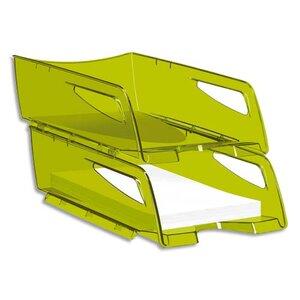 corbeille courrier maxi verte corbeille papier courrier courier banette bannette de. Black Bedroom Furniture Sets. Home Design Ideas