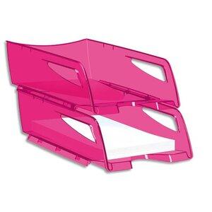 corbeille courrier maxi happy by cep rose corbeille papier courrier courier banette. Black Bedroom Furniture Sets. Home Design Ideas