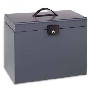 valise de classement grise valise de classement esselte europost pour le rangement en m tal. Black Bedroom Furniture Sets. Home Design Ideas