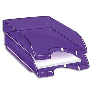 corbeille courrier happy by cep violet corbeille courrier banette papier document. Black Bedroom Furniture Sets. Home Design Ideas
