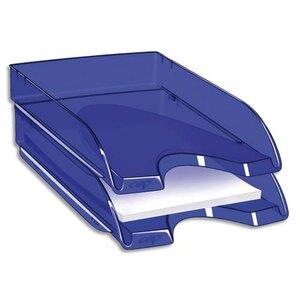 corbeille courrier happy by cep bleu corbeille courrier banette papier document rangement. Black Bedroom Furniture Sets. Home Design Ideas