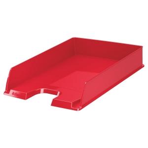 corbeille courrier esselte vivida a4 rouge corbeille courrier banette papier document. Black Bedroom Furniture Sets. Home Design Ideas